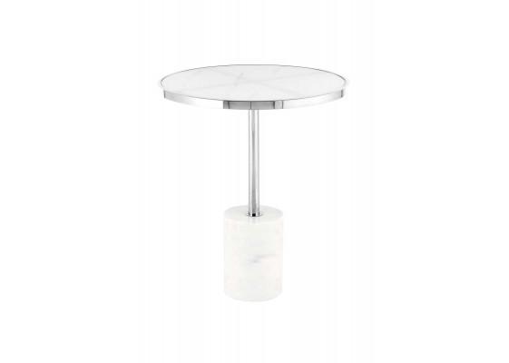 Стол Nani SM525 Silver/White