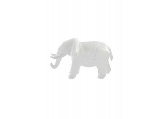 Скульптура Elephant K120 White