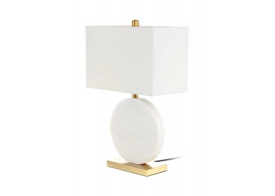 Настольная лампа Diva MK125 White/Gold/White