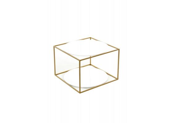 Стол Cube SM110 White/Gold