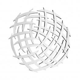 Настенное зеркало Grid SM810 Silver