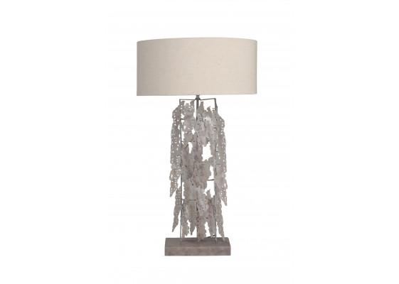Настольная лампа Ice L Silver