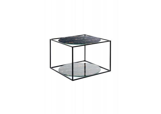 Стол Cube SM110 Blackmarble/Black
