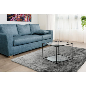 Стол Cube SM110 Clear/Black