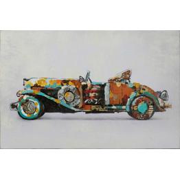 Фреска Retro car