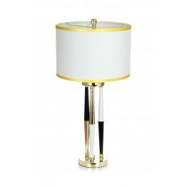 Настольная лампа Adajio White/Black/Gold