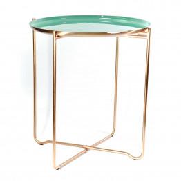 Стол Elsa M310 Green/Copper