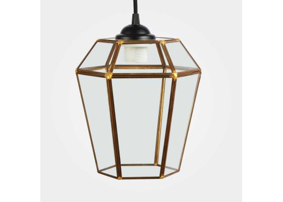 Подвесной светильник Rufus Copper S Black/Clear