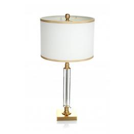 Настольная лампа Adajio White/Gold