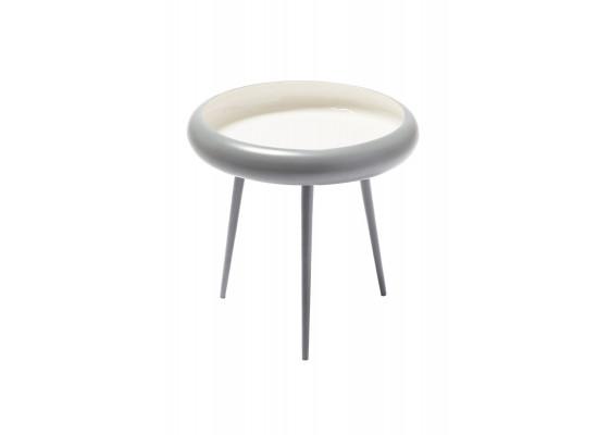 Стол Bowl M210 Grey/White