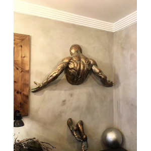 Настенная скульптура Wall art man