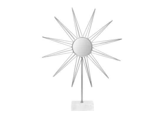 Скульптура Sun MK387 White/Silver