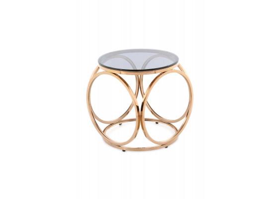 Стол Kurt SM125 Grey/Pinkgold