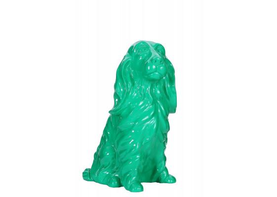 Скульптура Dog Green 33cm