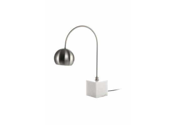 Настольная лампа Eva MK125 White/Silver